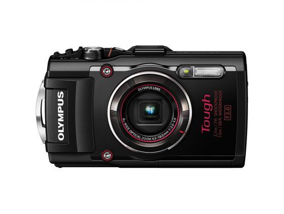 Цифровой фотоаппарат Olympus TG-4 16Mp 4x Zoom черный olympus 7x35 dps i черный