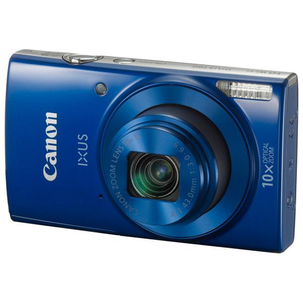Фотоаппарат Canon IXUS 190 Blue (20Mp, 10x Zoom, 3.0 SD) фотоаппарат canon ixus 190 blue