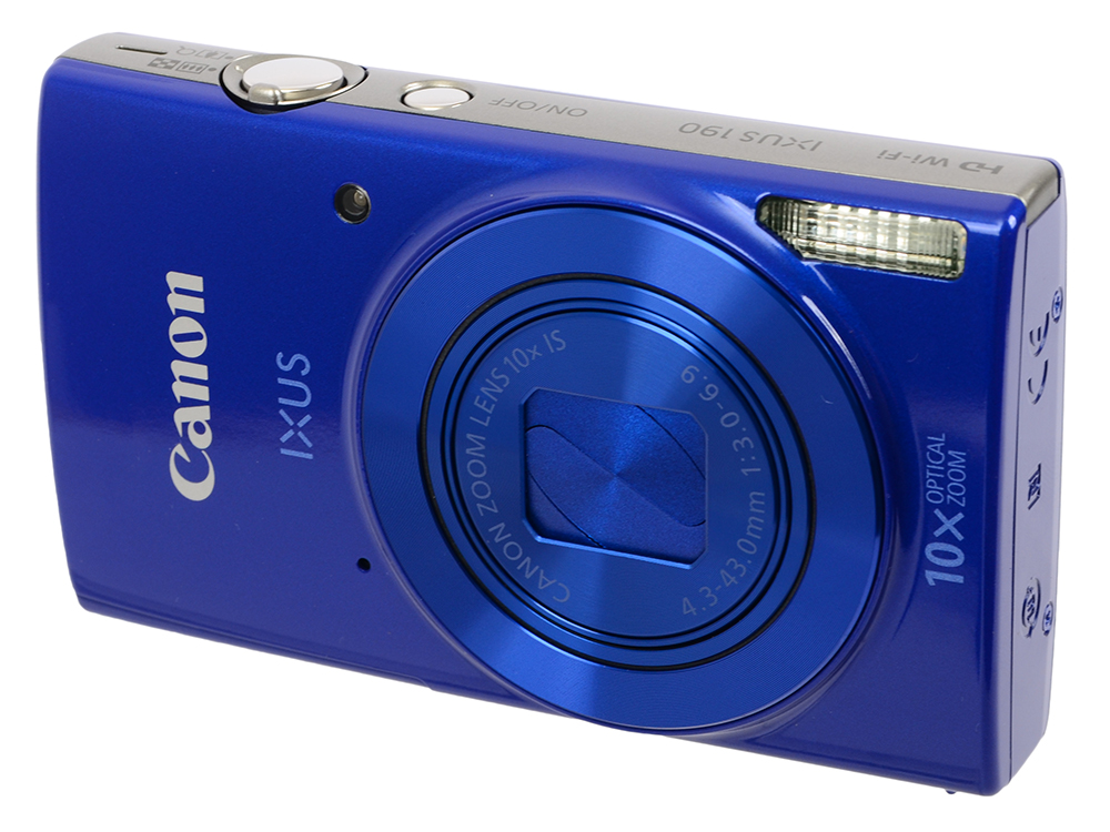 Фотоаппарат Canon IXUS 190 Blue (20Mp, 10x Zoom, 3.0 SD) худи print bar mental orange