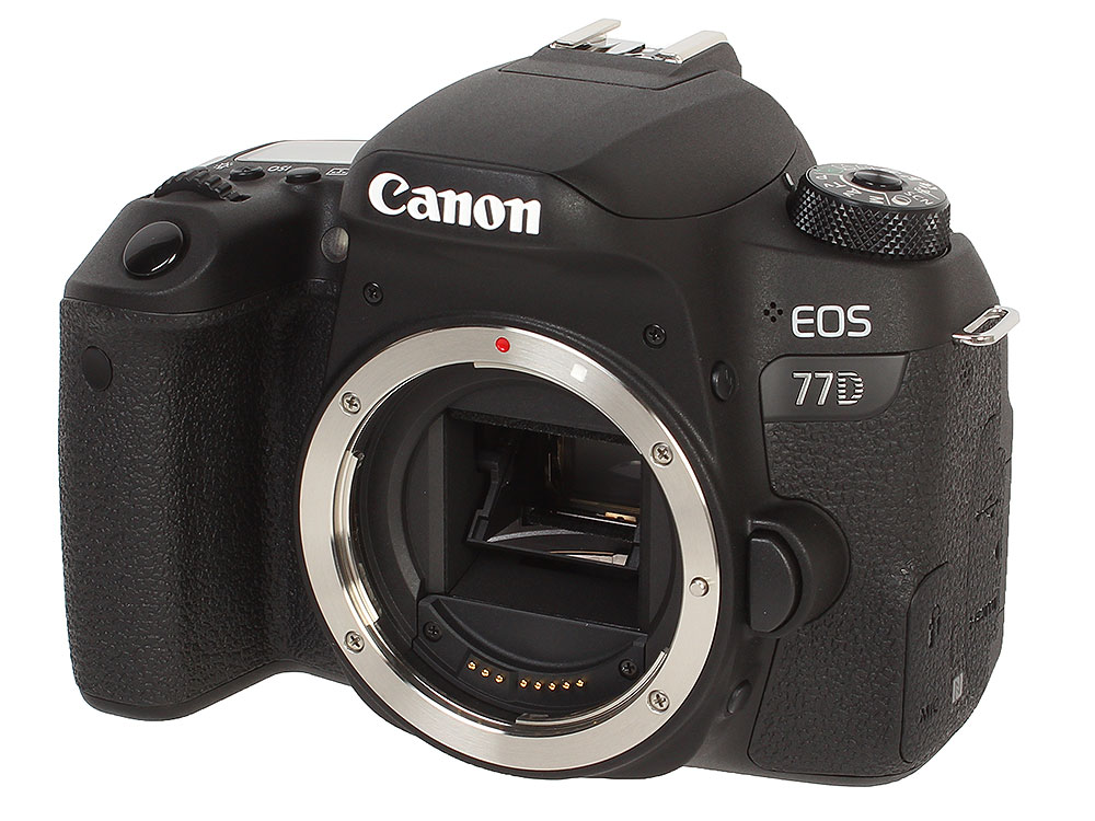 EOS 77D Body <зеркальный, 24.2Mp, WiFi, ISO51200, 3