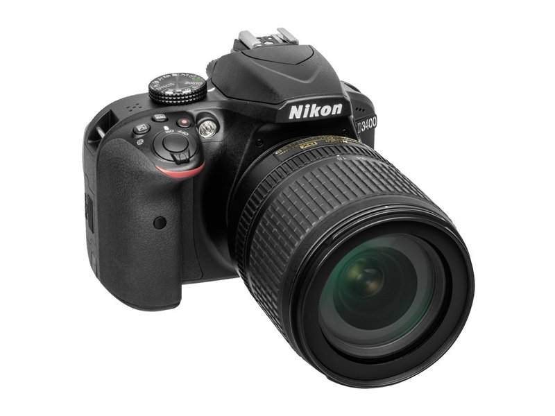 Фотоаппарат Nikon D3400 Black KIT (AF-P 18-105 VR 24,7Mp, 3 LCD) nikon d5200 18 55 ii kit