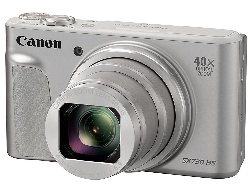 Фотоаппарат Canon PowerShot SX730 HS Silver <20.3Mp, zoom 40х, SD, SDHC, USB, WiFi>