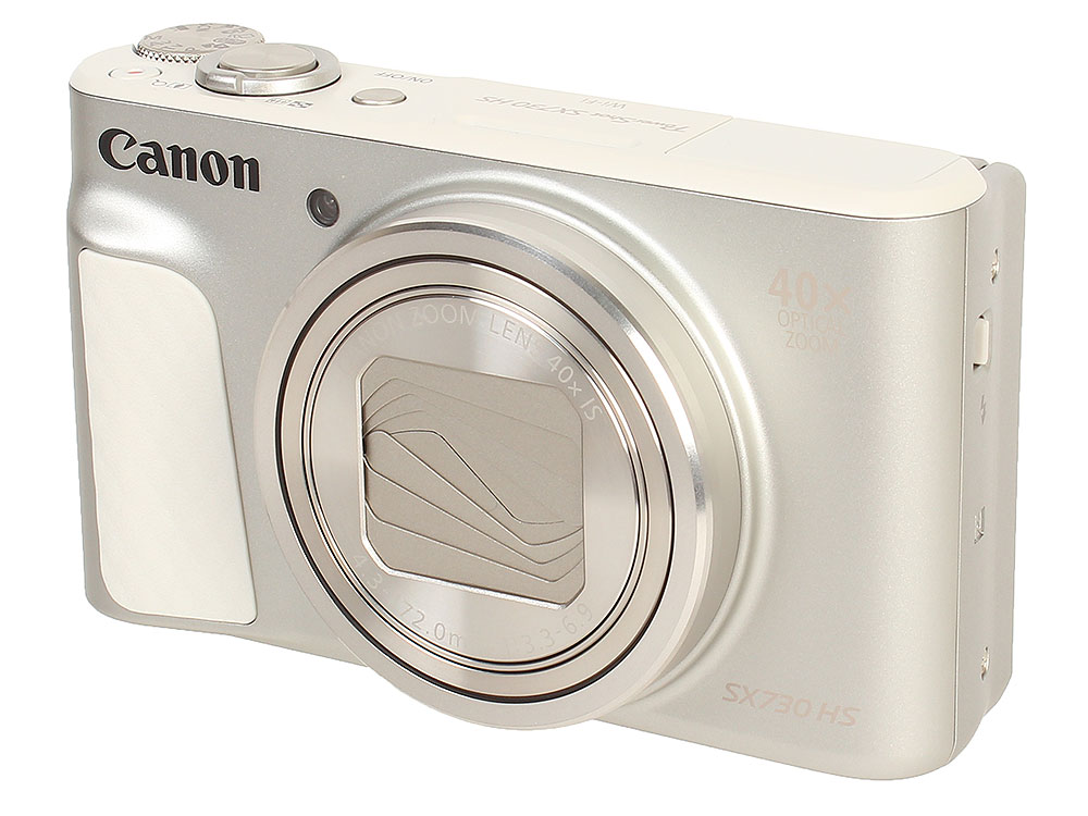 Фотоаппарат Canon PowerShot SX730 HS Silver (20.3Mp, zoom 40х, SD, SDHC, USB, WiFi) цифровая фотокамера canon powershot sx530 hs черный 9779b002