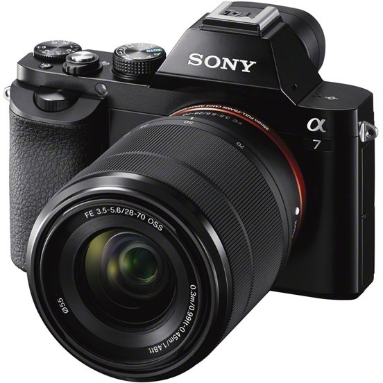 Фотоаппарат Sony ILCE-7KB KIT FE 28-70 Black (ILCE7B.RU2) 24.3 Mp / max 6000x4000 / Wi-Fi / экран 3 / 416 г