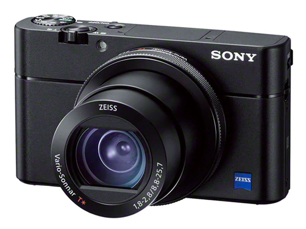 Фотоаппарат SONY DSC-RX100M5A Black 20.1 Mp, 1 / max 5472?3648 / 2.92x zoom / Wi-Fi / экран 3 / 299 г np bg1 fg1 compatible 3 7v 1200mah battery pack for sony dsc w30 more