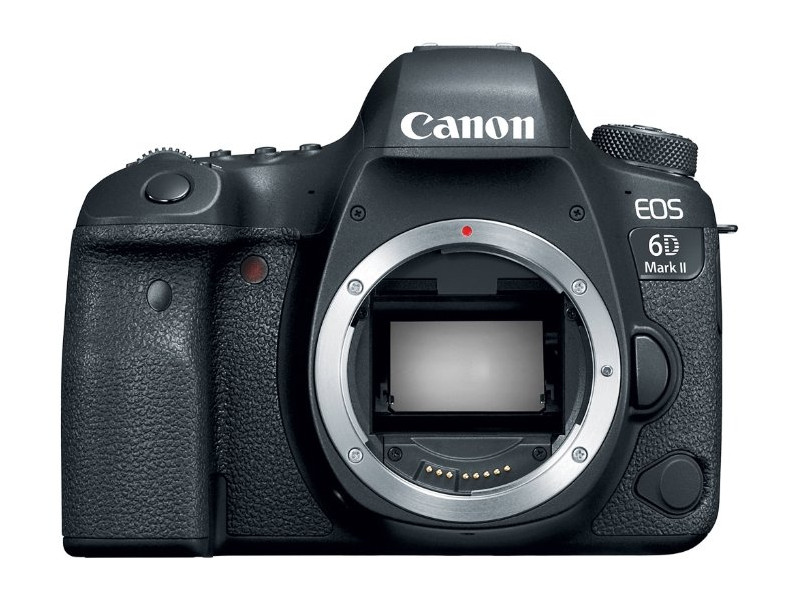 Зеркальный фотоаппарат Canon EOS 6D Mark II Body Black 26.2 Mp, Full frame / max 6240 x 4160 / экран 3 / 765 г зеркальный цифровой фотоаппарат canon eos 5d mark iv body