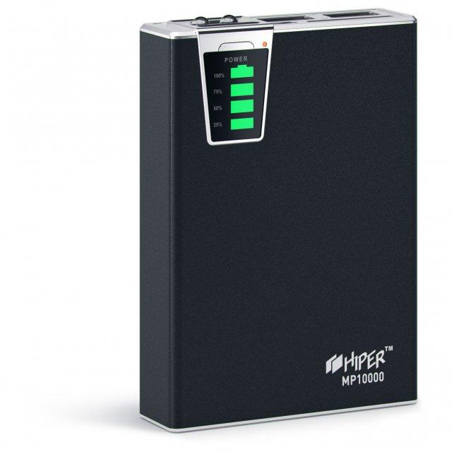 Внешний аккумулятор HIPER MP10000 Black