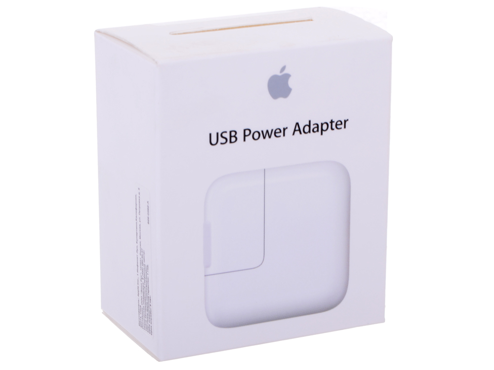 Зарядное устройство сетевое Apple 12W USB Power Adapter MD836ZM/A для Apple iPhone, iPad, iPod