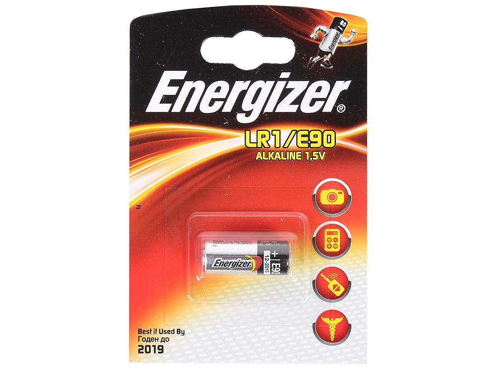 Батарейки Energizer 608306, Classic, LR1/MN9100 (E90), alkaline, PIP 1 шт.