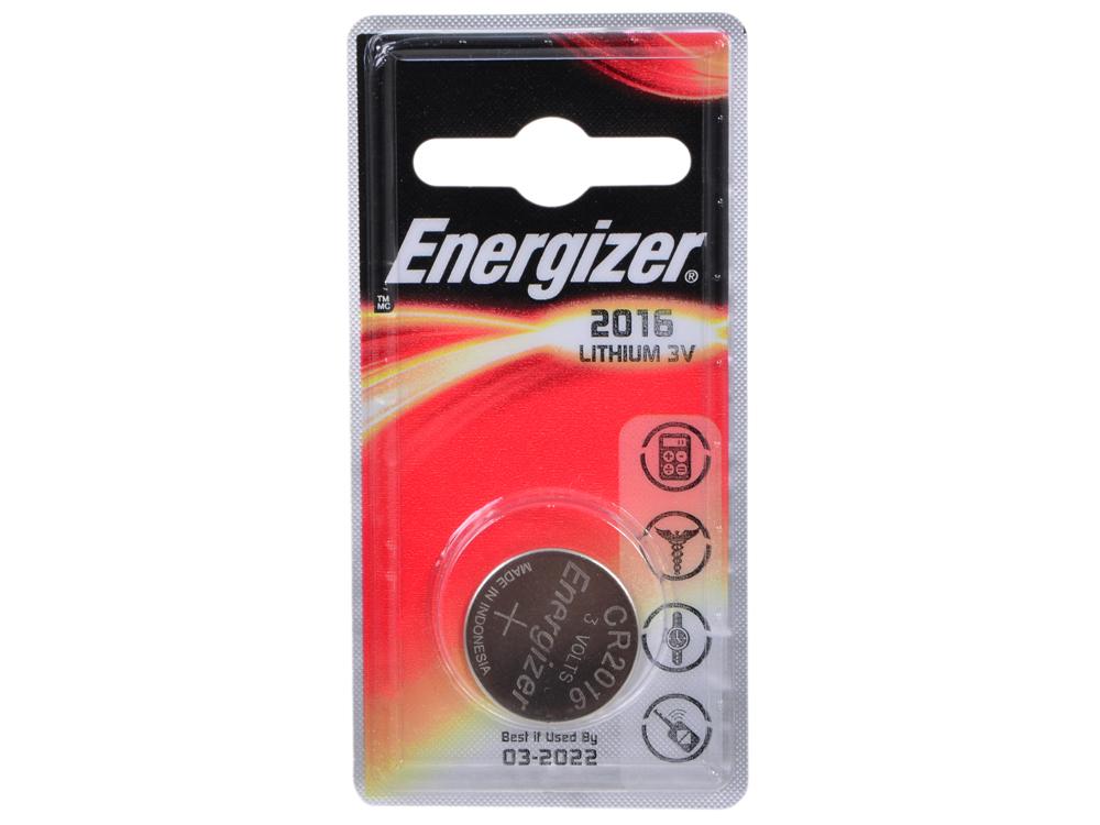 Батарейки Energizer 626983, Classic, CR2016/DL2016 (2016), lithium, PIP 1 шт.