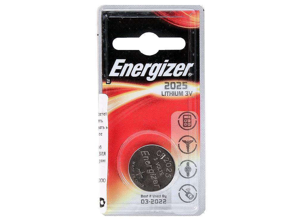 Батарейки Energizer 637433, Classic, CR2025/DL2025 (2025), lithium, PIP 1 шт.