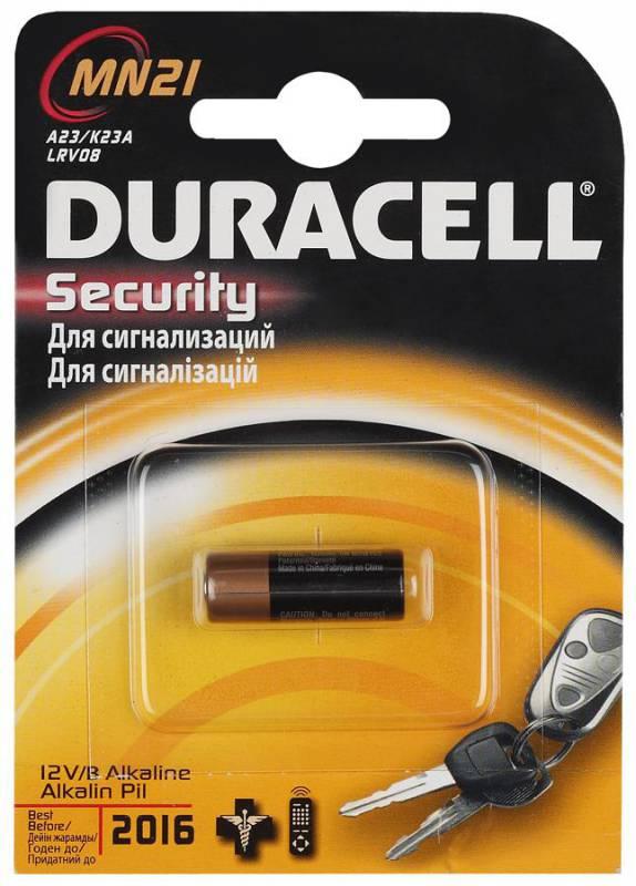 Батарейки DURACELL MN21 B1 Security 12V Alcaline