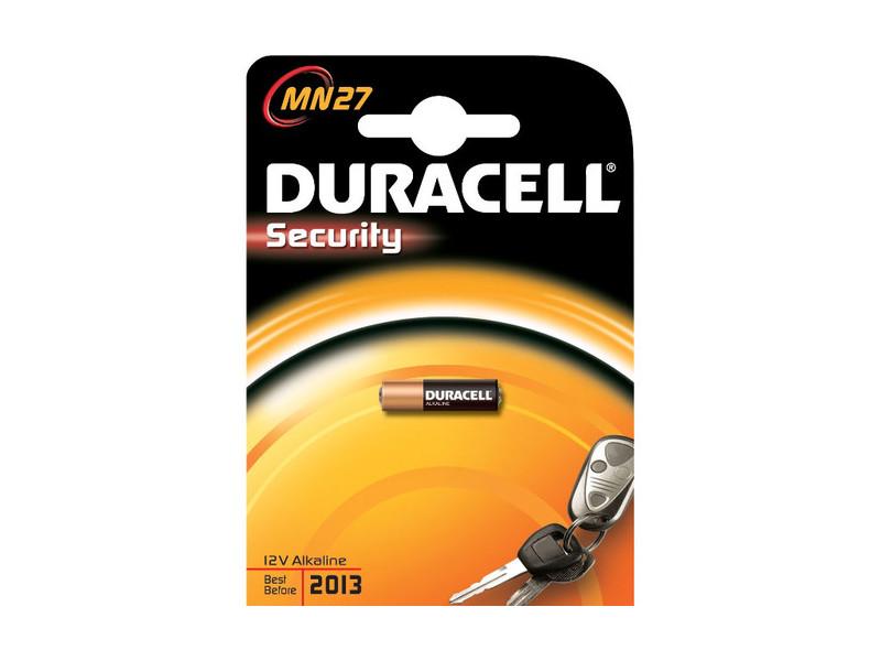 Батарейки DURACELL MN27 B1 Security 12V Alcaline
