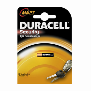 Батарейки DURACELL MN27 B1 Security 12V Alcaline
