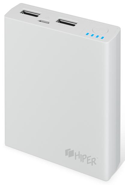 Внешний аккумулятор HIPER RP7500 White внешний аккумулятор hiper rp7500 black