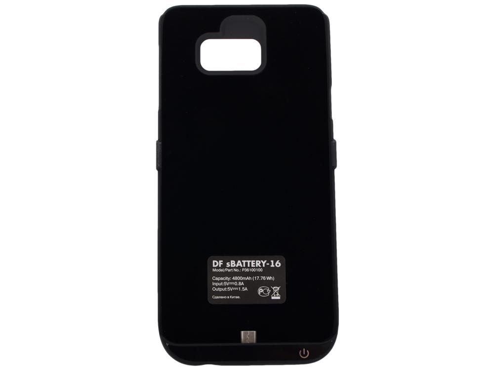 все цены на Аккумулятор-чехол для Samsung Galaxy Note 5 DF SBattery-16 (black) онлайн