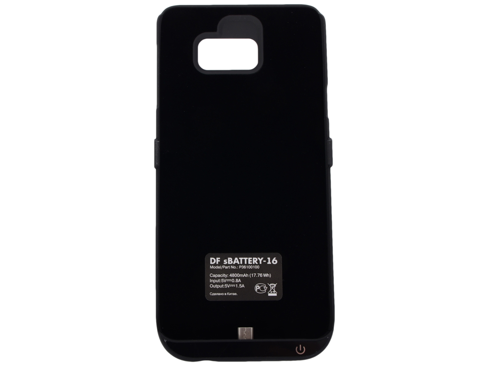 Аккумулятор-чехол для Samsung Galaxy Note 5 DF SBattery-16 (black) чехол для samsung galaxy note 5 n920 samsung glossycover золотистый