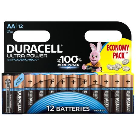 Батарейки Duracell Turbo MAX LR6-12BL AA 12 шт батарейки duracell basic 12 шт aa lr6 12bl