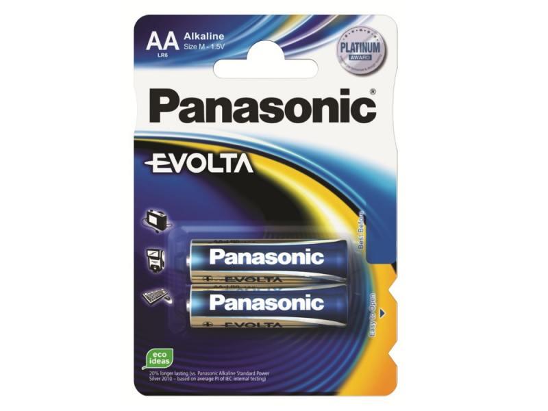 Батарейки Panasonic LR6EGE/2BP AA 2 шт батарейка d panasonic zinc carbon r20rz 2bp r20 bl2 2 штуки