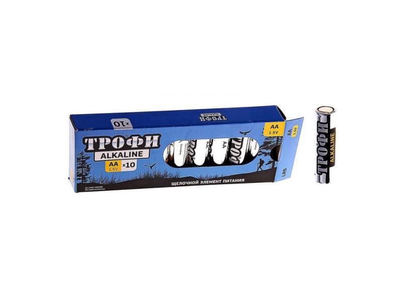 Батарейки ТРОФИ Alkaline AA 10 шт