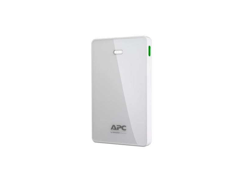 Портативное зарядное устройство APC Mobile Power Pack White M5WH-EC 5000mAh Li-polymer jz 1 6000mah portable li polymer battery power bank w usb cable white