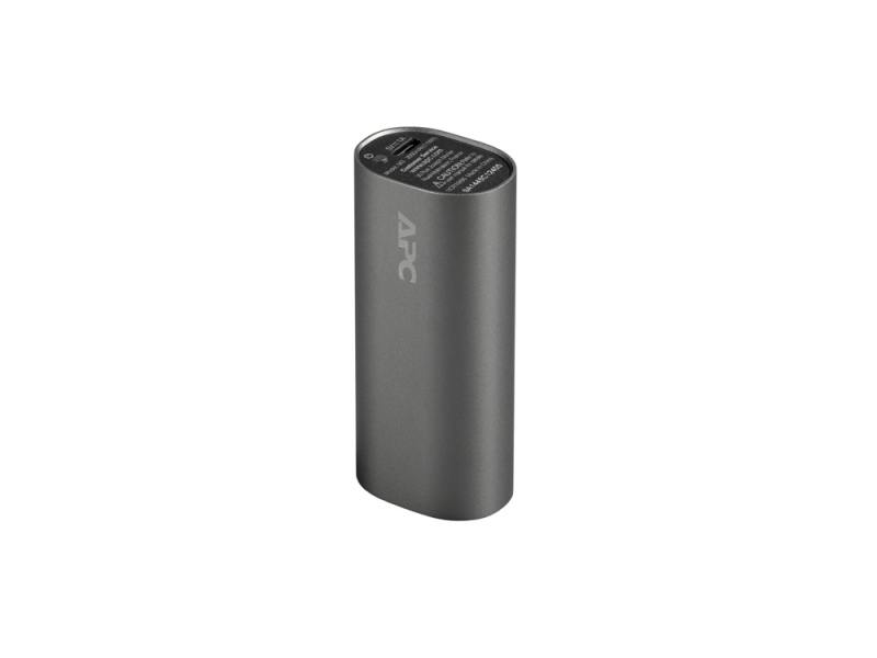 Фото Портативный аккумулятор APC Mobile Power Pack M3TM-EC Grey 3000mAh внешний аккумулятор apc mobile power pack 3000mah li ion cylinder titanium m3tm ec