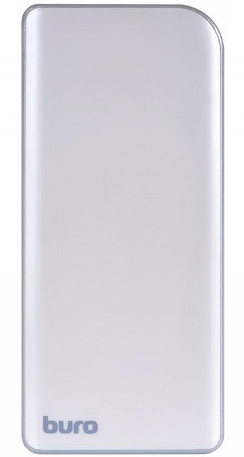 Портативное зарядное устройство Buro RA-8000 8000мАч серебристый/серый ламинатор buro hq 236