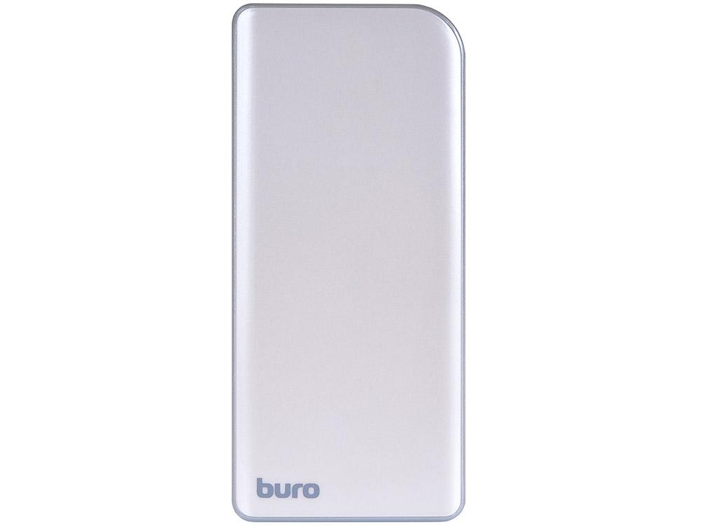 Портативное зарядное устройство Buro RA-8000 8000мАч серебристый/серый все цены
