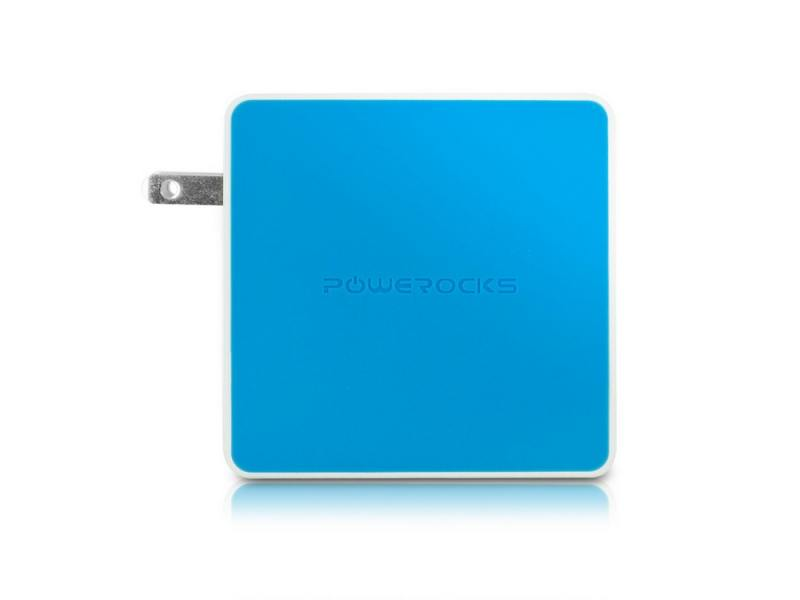 Портативное зарядное устройство Powerocks Tetris 2xUSB 3000mAh голубый аккумулятор powerocks magic cube mc pr 4a 9000mah purple