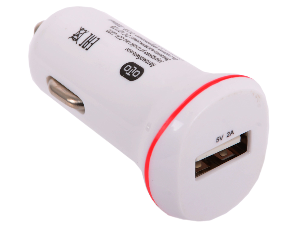Автомобильное зарядное устройство OLTO CCH-2200 (HARPER-O00000961) автомобильное зарядное устройство olto cch 2120 3 1a 2 usb белый