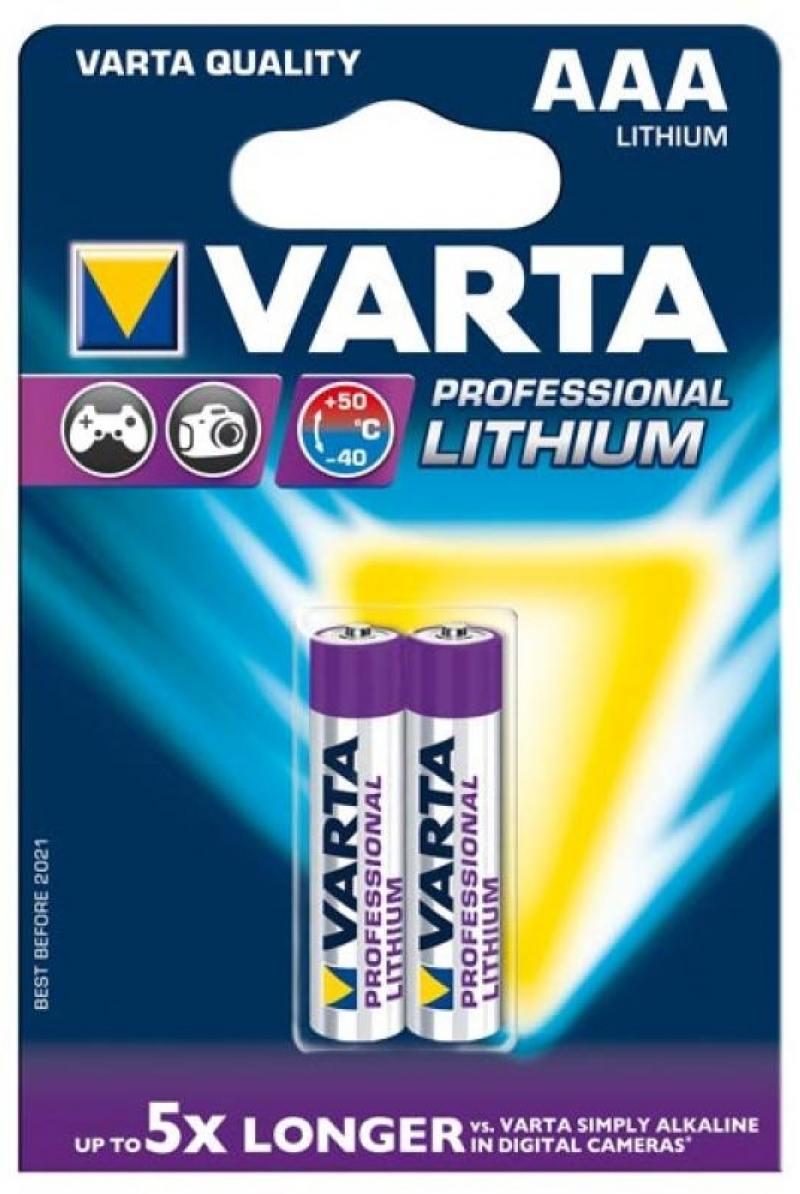 Батарейки Varta Professional AAA 2 шт батарейки panasonic everyday power silver aaa 2 шт