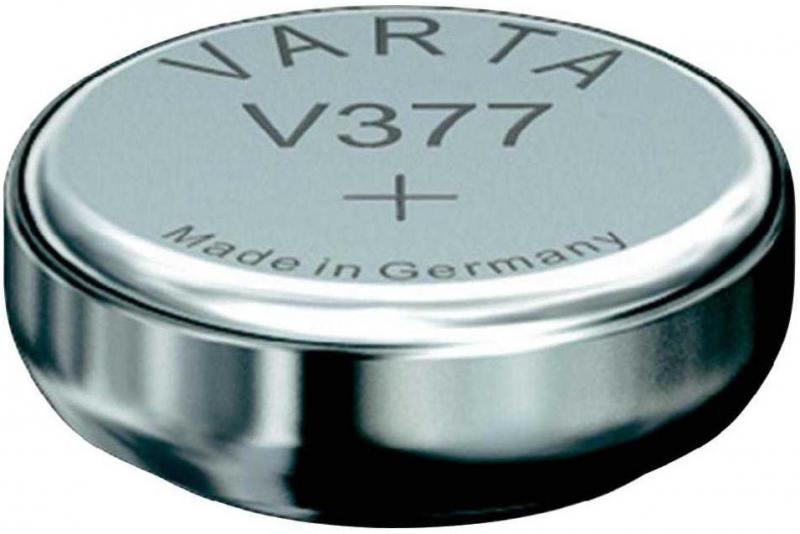 Батарейка Varta SR626SW SR66 V 377 1 шт батарейка varta 317 01862
