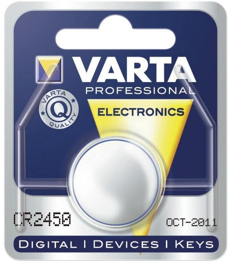 Батарейка Varta 6450 CR2450 1 шт