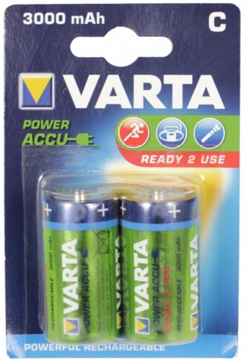 Аккумуляторы 3000 mAh Varta R2U C 2 шт аккумуляторы 2100 mah varta r2u aa 2 шт