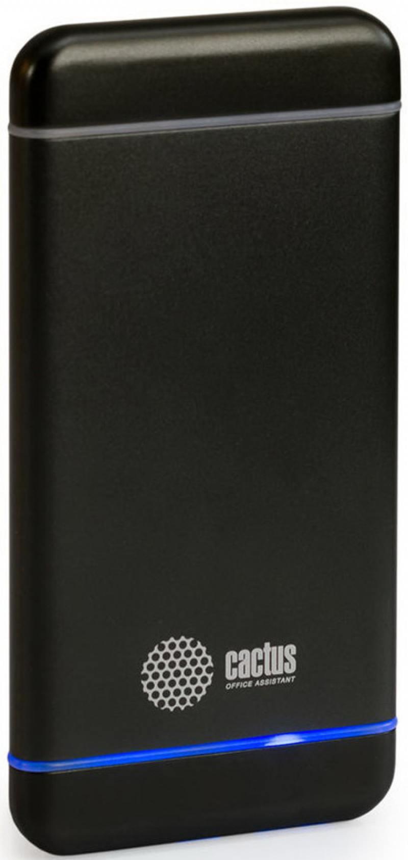 Портативное зарядное устройство Cactus CS-PBMS028-5000SG 5000мАч серый