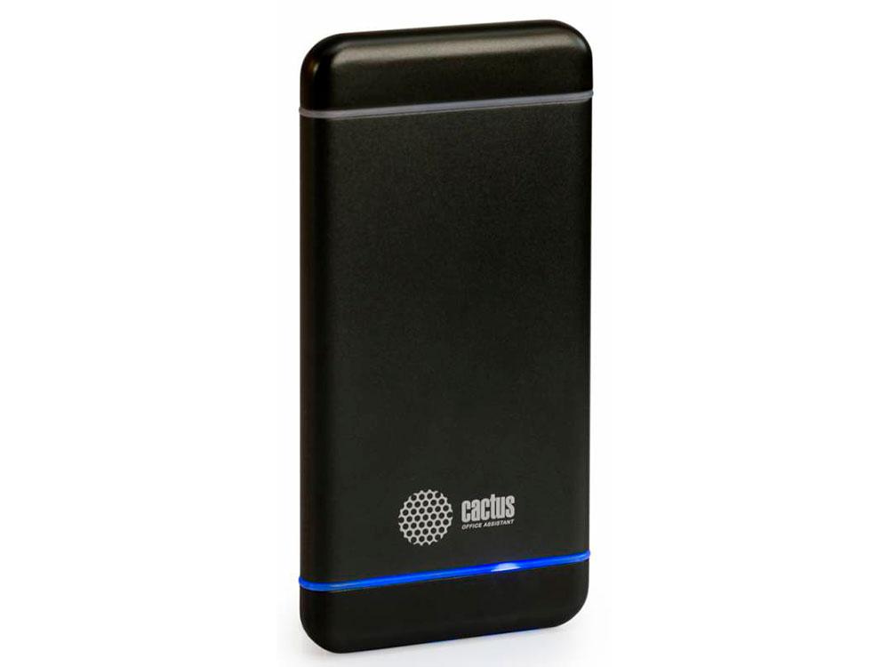 Портативное зарядное устройство Cactus CS-PBMS028-5000SG 5000мАч серый портативное зарядное устройство canyon cns tpbp5w 5000мач белый