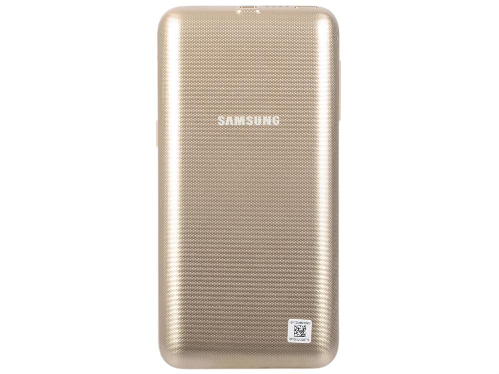 Чехол-аккумулятор Samsung EP-TG928BSRGRU серебристый для Samsung S6 edge+ чехол для смартфона samsung для galaxy s6 edge ep tg928 золотистый ep tg928bfrgru ep tg928bfrgru