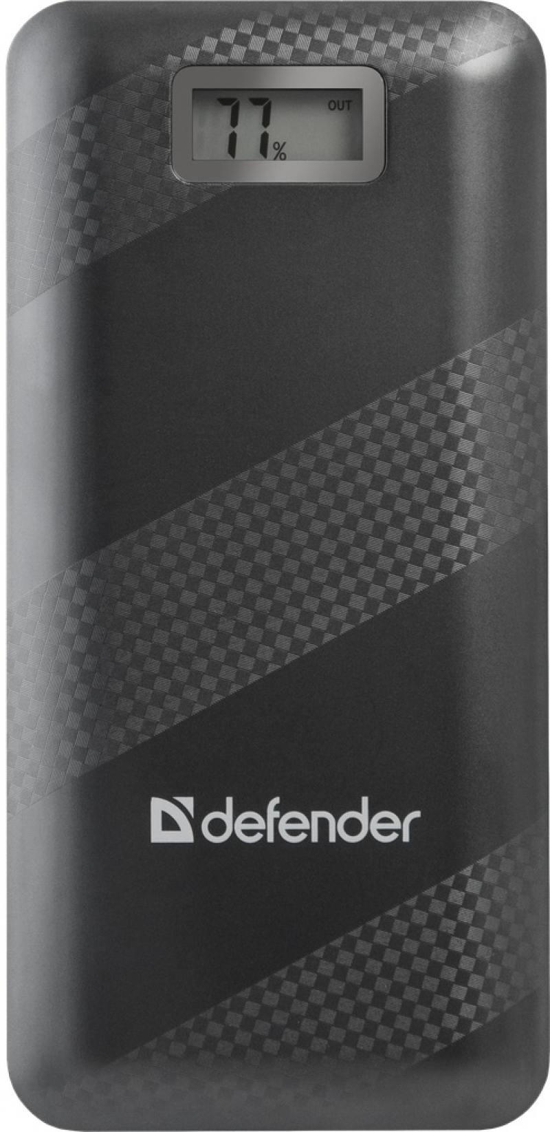 все цены на Внешний аккумулятор Defender Lavita 20000 Black (83635) онлайн