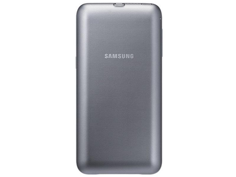 Чехол-аккумулятор Samsung EP-TG928BSRGRU серебристый для Samsung S6 edge+ внешний аккумулятор samsung eb pn930csrgru 10200mah серый