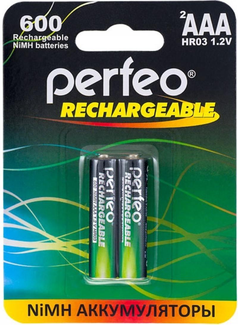 Аккумуляторы 600 mAh Perfeo AAA600/2BL AAA 2 шт аккумуляторы 2100 mah perfeo aa2100mah 2bl aa 2 шт page 7