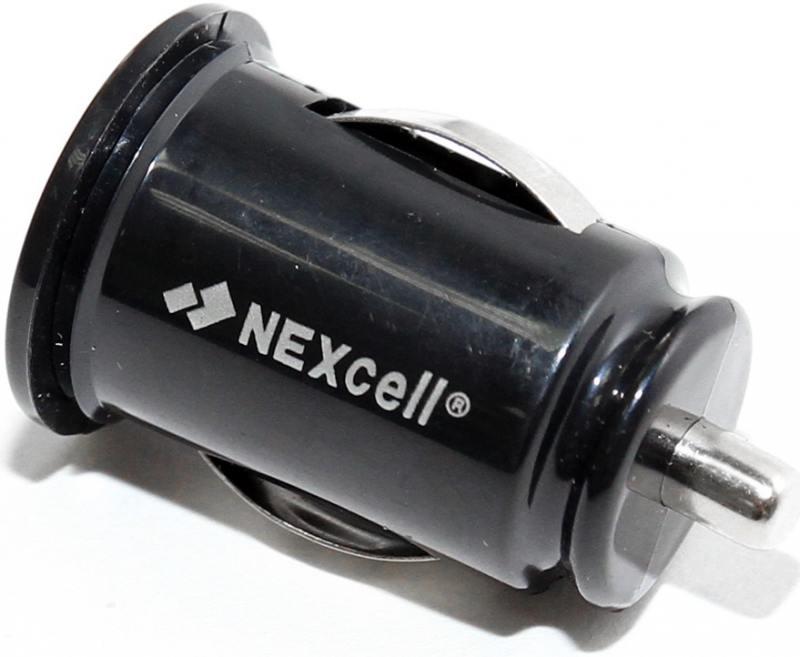 Автомобильное зарядное устройство Nexcell CC22A-101 2.1A 2 х USB черный