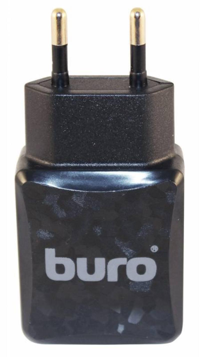 Сетевое зарядное устройство Buro TJ-138B 2.1A USB черный