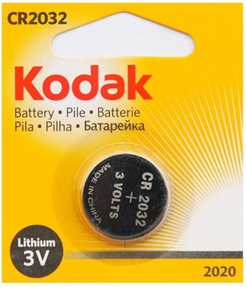 Батарейка 210 mAh Kodak 2020 CR2032 1 шт