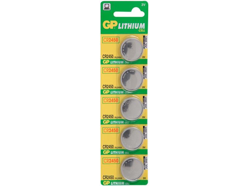 Батарейки GP CR-BC5 CR2450 5 шт цена и фото