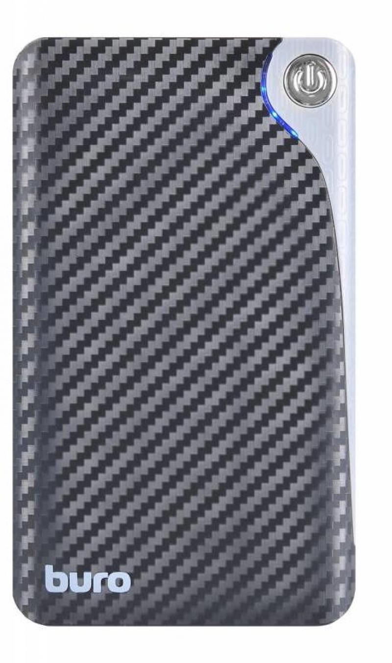 Портативное зарядное устройство Buro RA-12750 12750мАч черный/серый