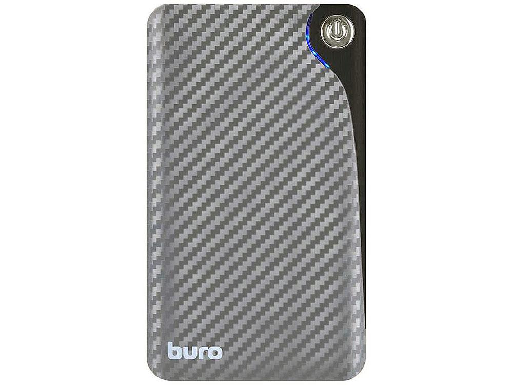 Портативное зарядное устройство Buro RA-11000 11000мАч серый/черный ламинатор buro hq 236