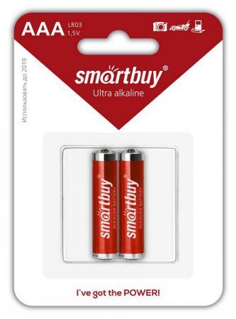 Батарейки Smartbuy SBBA-3A02B AAA 2 шт батарейки panasonic everyday power silver aaa 2 шт