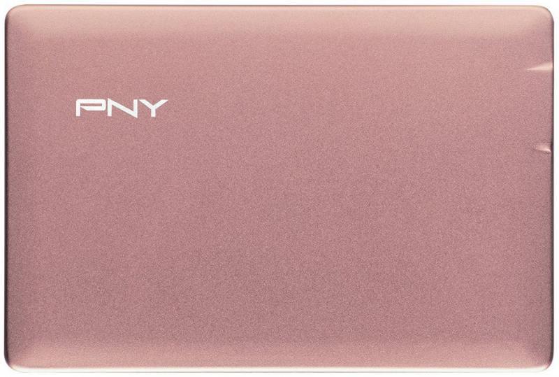 Внешний аккумулятор PNY PowerPack ALU 2500 розовый P-B2500-1CCAGP01-RB