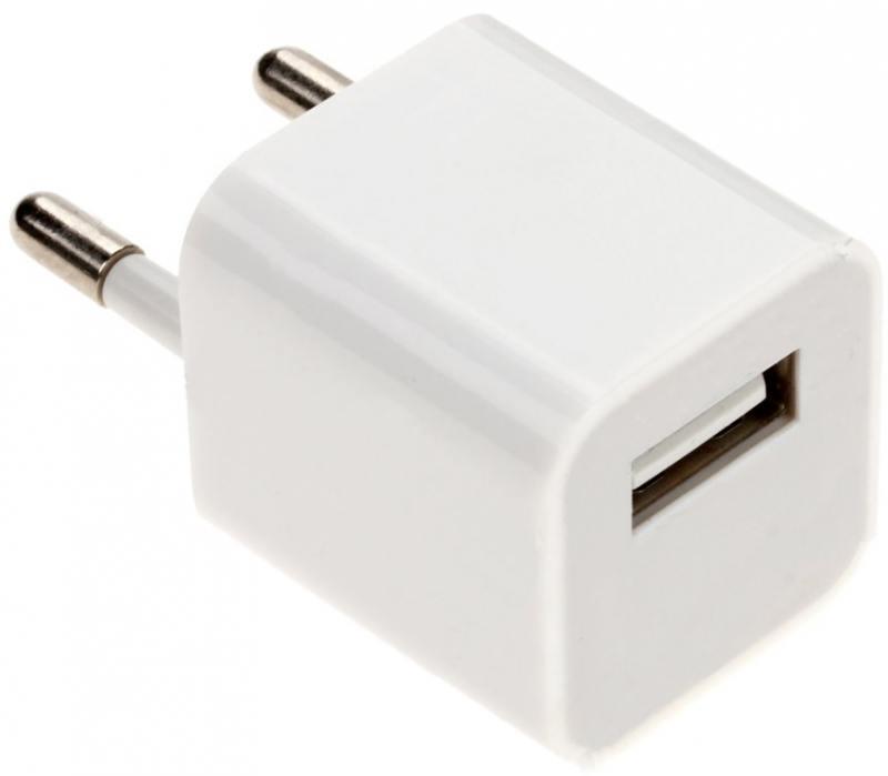 Сетевое зарядное устройство Continent ZN10-193WT 1A USB белый oxion зарядное устройство сетевое oxion 1a microusb