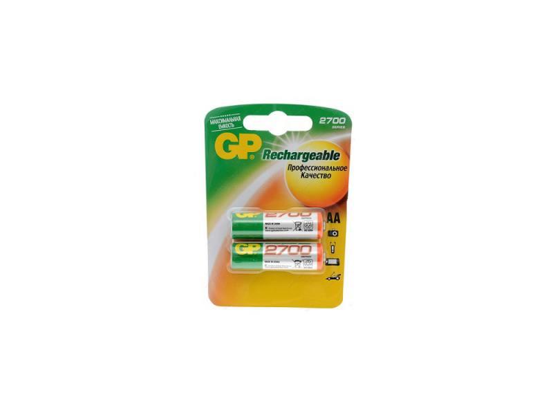 Аккумулятор 2700 mAh GP GP270AAHCHP4 AA 2 шт аккумулятор yoobao 10200 mah yb 6013pro gold